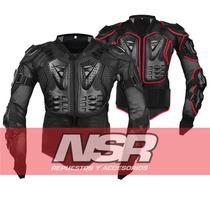 Pechera Chamarra Motocross Enduro Protecciones Nsr Motos