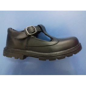 Colegial Escolar Guillermina Hebilla Calzado Cuero Zapato