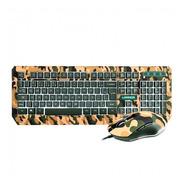 Kit Teclado E Mouse Multilaser Army Led Tc249 Usb Oferta Loi