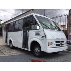 Microbus Chevrolet 25 Y 27 Pasajeros 2017