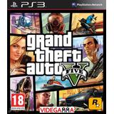 Grand Theft Auto V - Gta 5    Español    Playstation 3