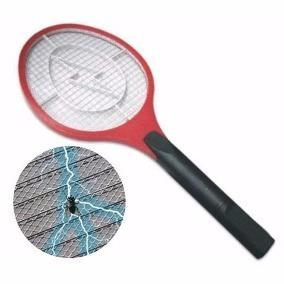 Raquete Eletrica Mata Mosca Mosquito Pernilongo Zica Dengue