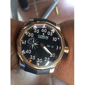 Reloj Corum Admirals Cup 48 Mm Competittion Titanio Oro Rosa