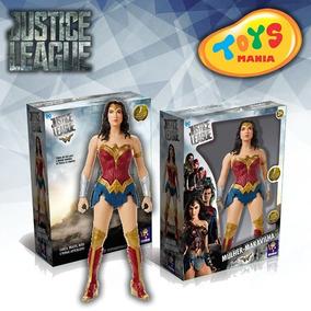 Boneca Collect Mulher Maravilha Dc Liga Da Justiça Mimo 45cm