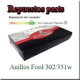 Juego Anillos Ford 302 Std 020 030 040 060