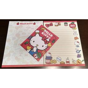 Conjunto De Papel De Carta Sanrio Hello Kitty - 2017