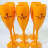 Taças De Champagne Veuve Clicquot Caixa C/ 12 Unidades