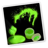 ¡ Pintura Cuerpo Glow In The Dark Body Paint Luz Uv Verde !!