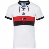 Camisa Flamengo Branco Retrô adidas 2014