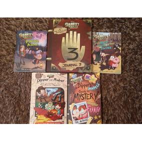 Libro Gravity Falls 5 Libros + Regalo