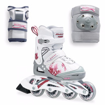 Roller Bladerunner Phaser Xr + Protecciones T. 35-39 - Niñas