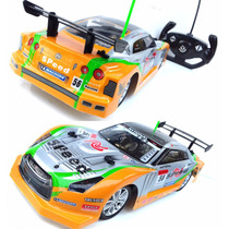 Carrinho Carro Controle Remoto 1:14 Corrida Turbo 33cm