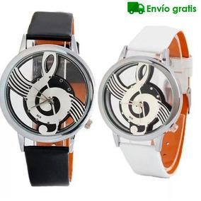Reloj Clave De Sol Envio Gratis Unisex Dama Hombre Musica