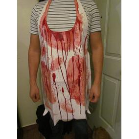 Halloween Mandil Carnicero Disfraz Butcher Masacre