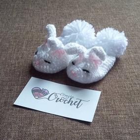Zapatitos De Bebé Tejidos A Crochet
