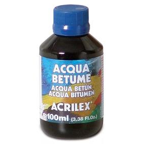 4x Acqua Betume Acrilex 100ml
