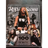 Revista Rolling Stone Marzo 2018 100 Mejores Discos De Metal