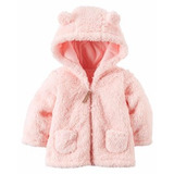 Campera Serpa Carters ® Abrigo Rosa 3 Meses Azul 24 Meses