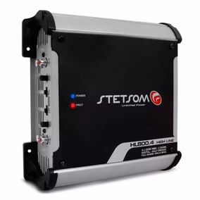 Amplificador Stetsom High Line Hl800.4 900w 2 Ohms -
