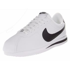 Tenis Nike Cortez Básico Clásico Piel 819719-100 Originales