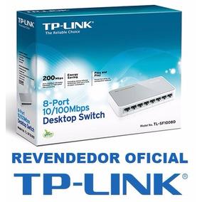 Switch 8 Portas Tp-link Tl-sf1008d 10/100mbps 100% Original