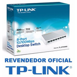 Switch 8 Portas Tp-link Tl-sf1008d 10/100mbps 100% Original
