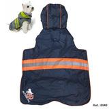 Capa Impermeable Polar Talle Xxl Color Azul Naranja + Envio