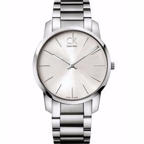 Reloj Calvin Klein K2g21126 Plateado Caballero Envío Gratis