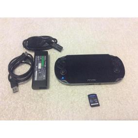 Ps Vita Sony Modelo Pch-1101. Memoria De 4 Gb. 1 Juego