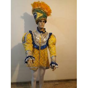 Fantasia Carnaval Desfile Escola De Samba Tema Brasil.