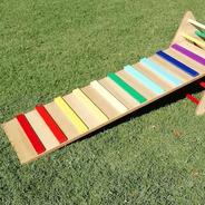 Trepador Rampa Arcoíris - Juegos Para Niños Lakalumba