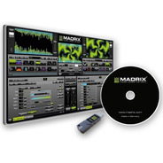 Licencia Madrix 5 Dongle Usb Key Start 2x512 Ch Dmx Dvi @tl