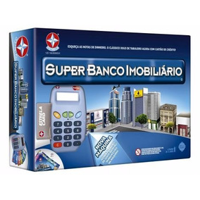 Jogo Super Banco Imobiliário Com A Nova Maquina Eletronica