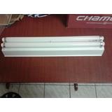 Luminaria Tipo F 2 Lamp De 20 Wts Reator Bivolt Completa