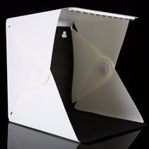 Mini Studio Fotografico Produtos Ecommerce C/ Luz Led Tenda