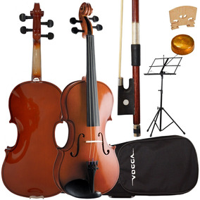 Kit Violino 4/4 Vogga Von144 Animal Partitura Frete Grátis