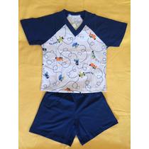Kit Com 5 Pijamas Infantis (menino) Da Little Sheep