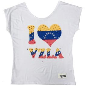 Franela De Venezuela, Blusa De Dama, Camisa De Moda Casual