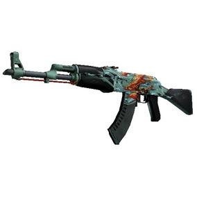 Skin Cs Go Ak-47 (stattrak)   Vingança Água-marinha