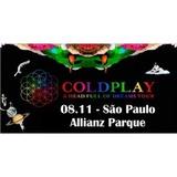 Ingresso Coldplay Para 08/11 - Pista Premium Verde Inteira