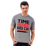 Camisa Time Grande Não Cai Flamengo - Braziline