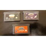 Juegos Game Boy Advance Crash Y Pokemon