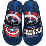 Chinelo Capitão América Avengers Gáspea Slide 26161