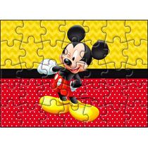 Quebra Cabeça Personalizado Mickey Ou Minnie Frete Barato
