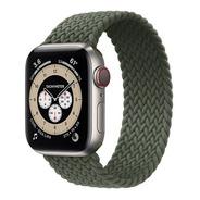 Pulseira Braided Solo Para Apple Watch 38/40mm - Verde - P
