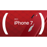 Apple Iphone 7 128gb 4g Red Com Nota Fiscal Película E Capa