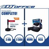 Antena Interna Digital Dtv-150 + Conversor Digital Dtv-5000