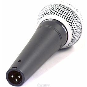 Micrófono Vocal Dinámico Profesional Shure Sm48-lc