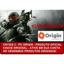 Crysis 3 Pc Origin Chave Ative Em Sua Conta Envio +rápido