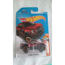 Hot Wheels Coleccion 2017 Ford F-150 Raptor 17 Roja